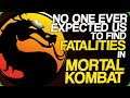 watch he video of No One Ever Expected Us to Find Fatalities in Mortal Kombat (No More Secrets in Gaming)