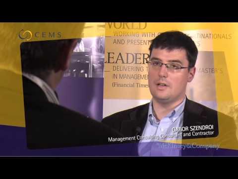 CEMS Career Forum (2009) - Budapest, Corvinus University