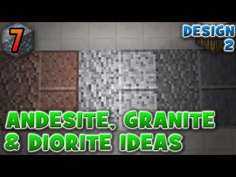 Andesite, Diorite & Granite Patterns/Ideas 1.8 [Design #2] :: Minecraft Mini's #7