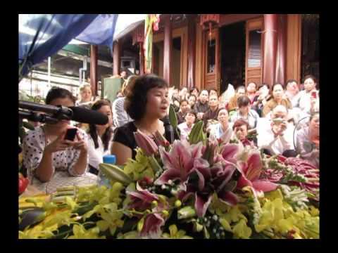 Bà Phan Thị Bích Hằng giảng tại chùa Phúc Khê - Hà Đông 1