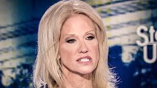 Kellyanne Conway Gets TERRIFIED Of Answering Simple Questions During Interview
