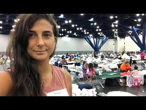 HURRICANE HARVEY: RESCUING HOUSTON (Live Shelter Footage)