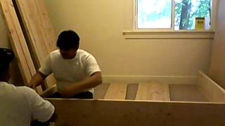 Building Platform Bed Frame Part 1 Of 10