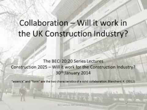 Collaboration: Will it work in the UK construction industry?