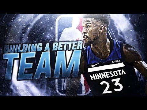 97 MVP SIGNING?! BUILDING A BETTER TEAM! NBA 2K18
