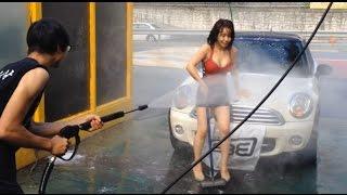 쇼리의 샤워 놀이 Shower in Car Wash