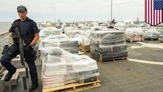 Береговая охрана США перехватила партию наркотиков стоимостью в 1 млрд