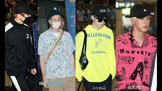180629 ?? ??? BTS Arrival In Incheon Airport Back To Korea