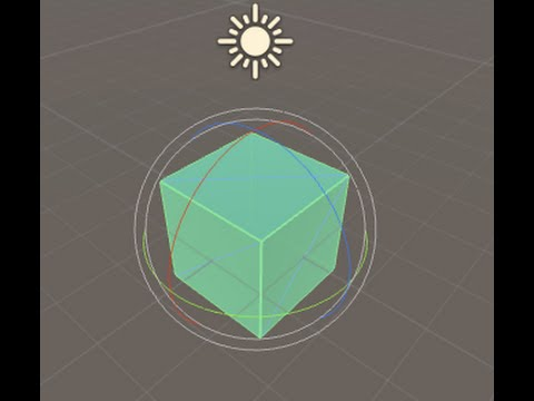 Unity tutorial : rotate an object with mouse or touch in 3d