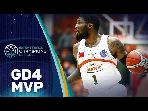 MVP Gameday 4 - Banvit's Adonis Thomas (23 points) scoops Gameday 4 MVP award