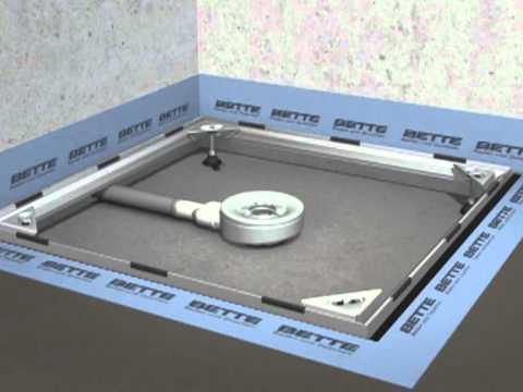 installationmovie betteinstallation system flush to floor youtube. Black Bedroom Furniture Sets. Home Design Ideas