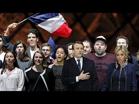 Macron gana las presidenciales en Francia