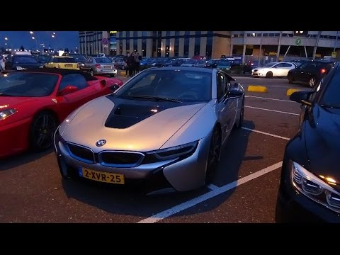 fast furious 7 premiere supercars part 1 bmw i8 911 targa 4s mustang gt youtube. Black Bedroom Furniture Sets. Home Design Ideas