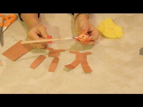 Lollipop Scarecrow Craft : DIY Craft Tips