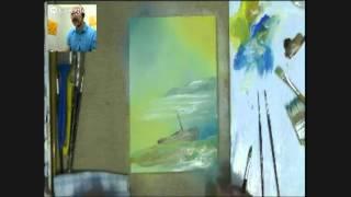 Александр Жиляев - Мастер-класс по живописи акриловыми красками