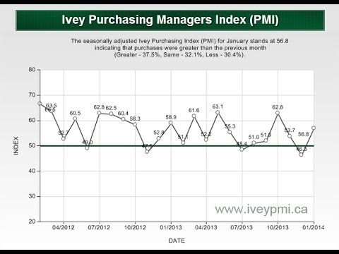 What is The Ivey Purchasing Managers Index (PMI)