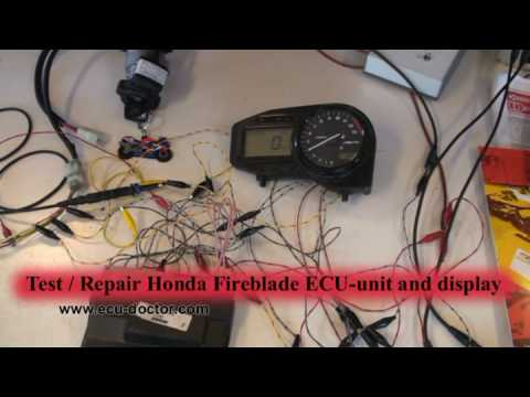 hqdefault honda cbr929rr fireblade ecu display, 38770 mcj youtube cbr 929 wiring harness at edmiracle.co