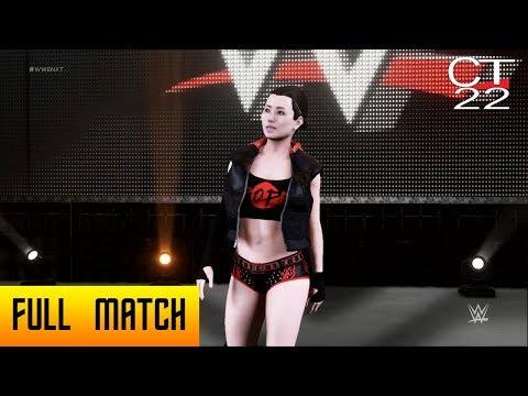 WWE 2K Universe - WWE 2K18: Emi Pope vs Ivelisse ( Showcase Match)
