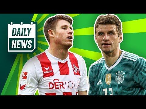 Transfer News: Lewandowski, Heintz! Müller DFB-Kapitän? Rangnick übernimmt RB Leipzig! Daily News