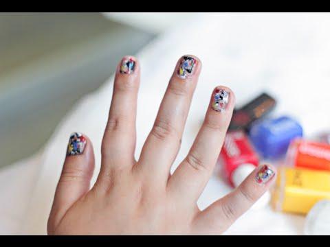 Splatter Nail Art Tutorial (Jackson Pollock Style) thumbnail