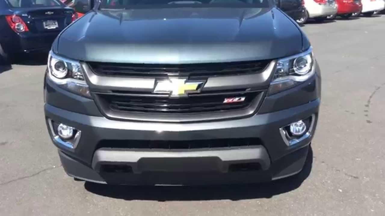 2015 Chevrolet Colorado Crew Cab Z71 Grey, Burns Chevrolet ...