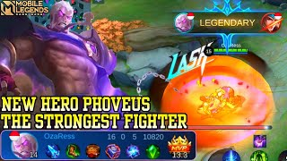New Hero Fighter Mage Phoveus - Mobile Legends Bang Bang