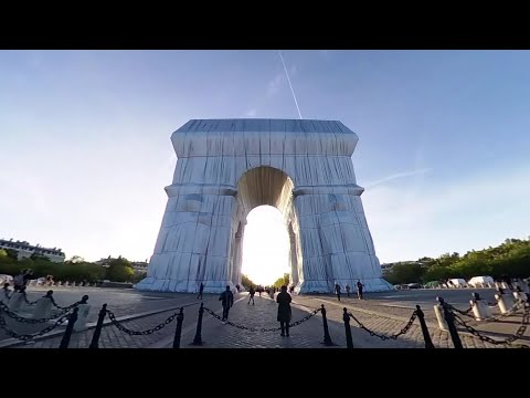 Loop Object VR: Christo l'Arc de triomphe, Wrapped