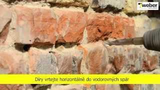 Sanování vlhkého zdiva