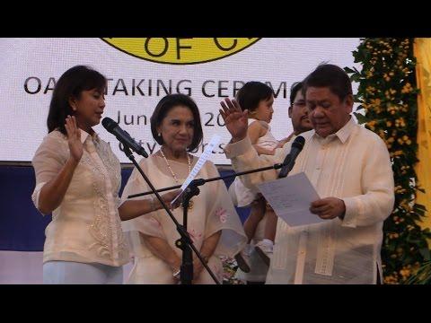 Cebu City Mayor-elect Tomas Osmeña oath-taking