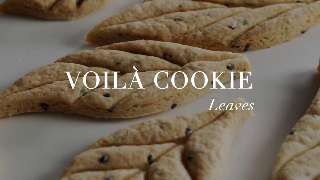 Molde cortador y marcador de hojas Voilà Cookie Leaves Silikomart | María Lunarillos | tienda & blog