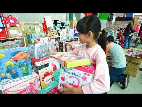 Vlog Mecca Ke Jakarta Fair beli mainan diskon