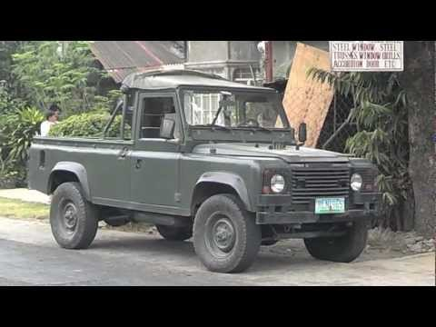 Military Surplus Land Rover Defender 110 - starting point for a BUG out Vehicle