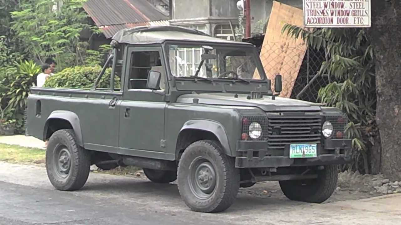 Military Surplus Land Rover Defender 110 Starting Point