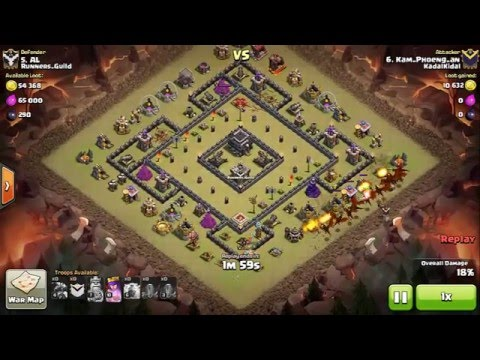 Perfect TH9 Target for Dragon Attack!