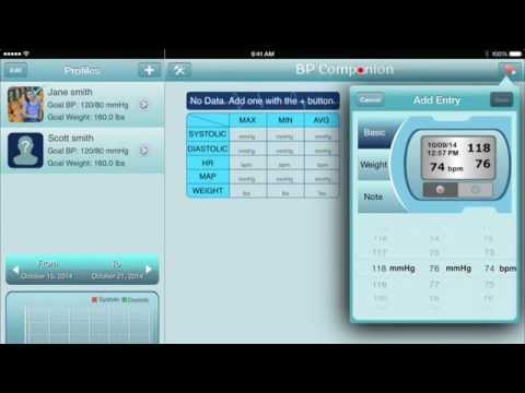 Blood Pressure Companion App Review