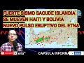FUERTE SISMO SACUDE ISLANDIA