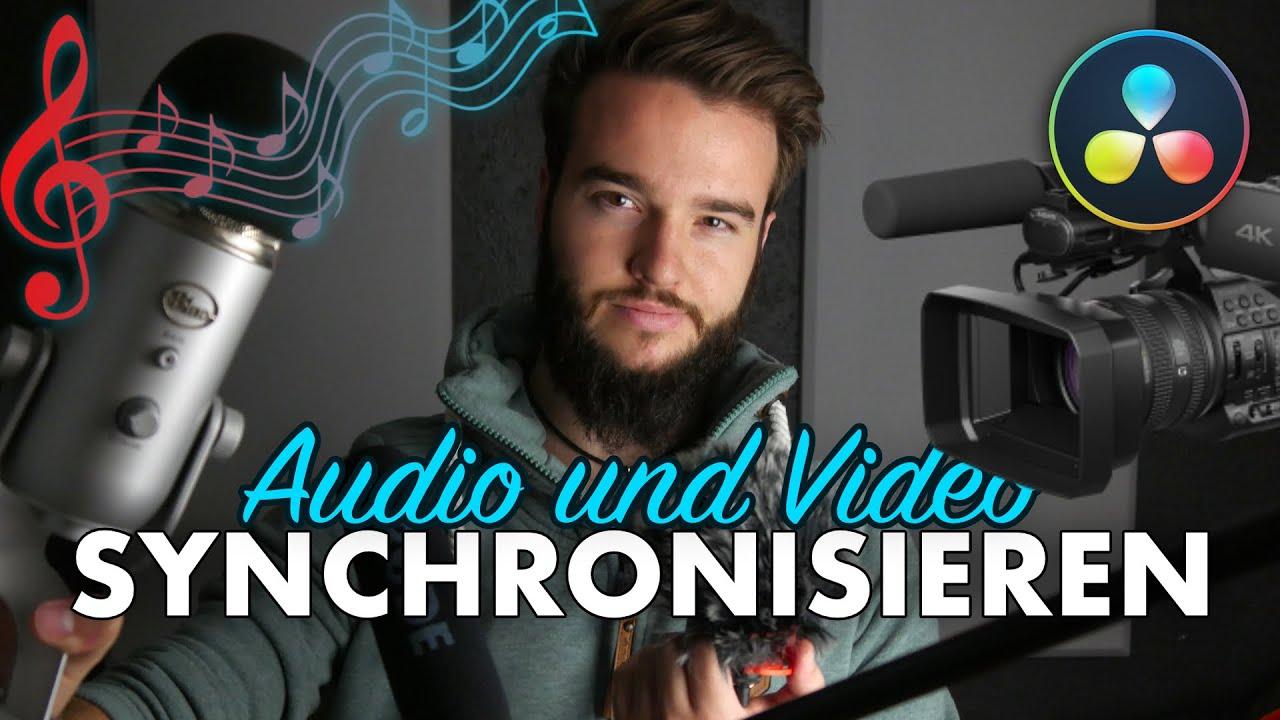 AUTOMATISCH verschiedene AUDIO Spuren SYNCHRONISIEREN | DaVinci Resolve Tutorial Deutsch