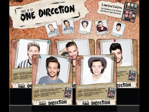 Markwins One Direction Makeup Product Launch And Giveaway!!!  2 More Days To Enter
