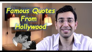 Famous sentences from movies English
