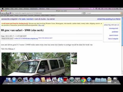 Cars For Sale On Craigslist In Youngstown Ohio