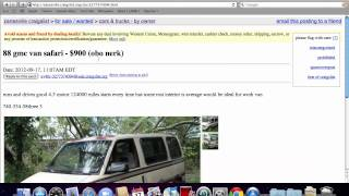 Craigslist Ohio Used Cars For Sale By Owner Youtube