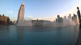 Dubai Fountain, Arabic song