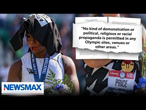 Did Gwendolyn Berry violate Olympic rules?   Spicer & Co.