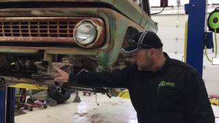 1963 Chevy 3/4 Ton 4x4 Build - Lift Kit Update