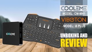 cooleme CM-MH1 & Viboton i8 Plus RF Remote - Unboxing And Review
