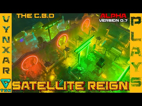 Satellite Reign - The C.B.D - Going for a walk in the new district