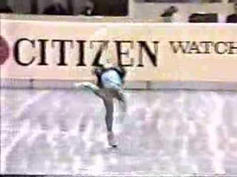 Claudia Leistner - 1985 World Championships Long Program