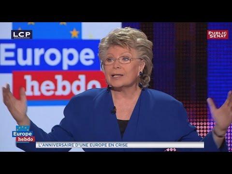 """Brexit : """"Une très grande bêtise"""" selon Viviane Reding"""