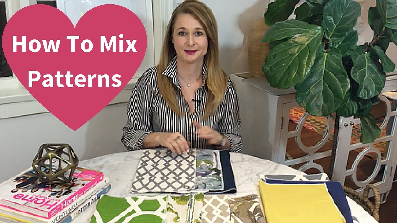How To Mix Patterns 2016 Youtube