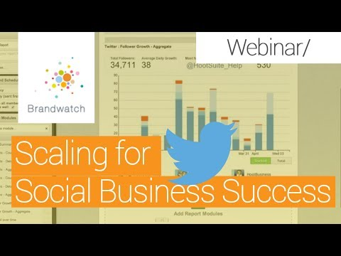 Scaling for Social Business Success: Combining Social Intelligence & Engagement 11 7 13